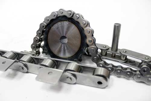 CONVEYING AND TRANSMISSION CHAINS